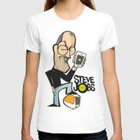 steve jobs T-shirts featuring STEVE JOBS by Valter Brum