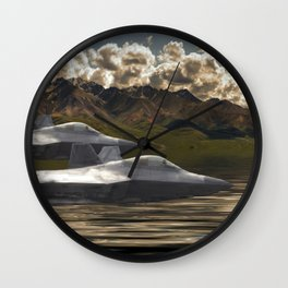 Fighter Jets Wall Clock