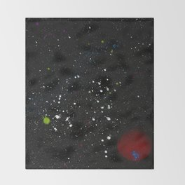 Red Giant Throw Blanket