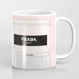 pink marfa watercolor illustration Coffee Mug