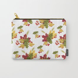 Harvest Season Pattern Carry-All Pouch