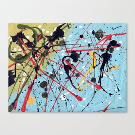Just Abstract Canvas Print