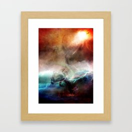 Canto 5-Minos By SG Schroeder Framed Art Print