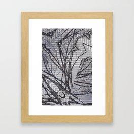 Tree Pt. 1  Framed Art Print