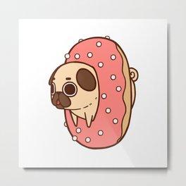 Puglie Doughnut Metal Print