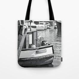 Freda - fishing boat - photography Tote Bag
