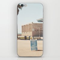 muscle iPhone & iPod Skins featuring Muscle beach by Retro Love Photography