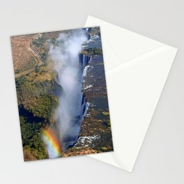 Flight over the Victoria Falls, Zambia Stationery Cards