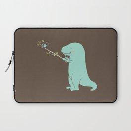 Selfie T-Rex Laptop Sleeve