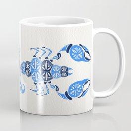 Blue Scorpion Coffee Mug