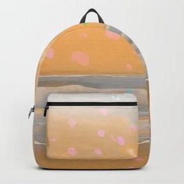 Peach Beach Memories Backpack