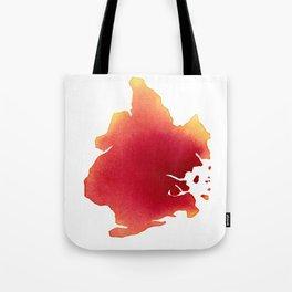 Brooklyn Red Tote Bag