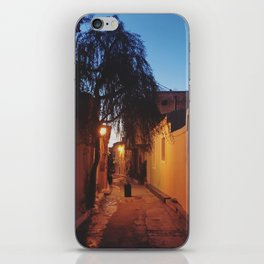 Athens alleyway iPhone Skin