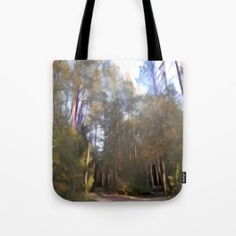 Abstract Forest 6 Tote Bag