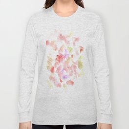 170722 Colour Loving 2   Modern Watercolor Art   Abstract Watercolors Long Sleeve T-shirt