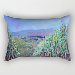 Hillsides of Tuscany Rectangular Pillow
