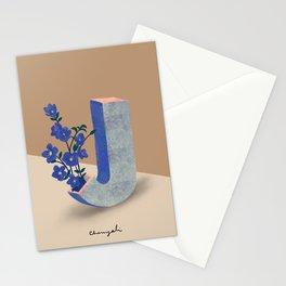 Vase J Jacob's Ladder  Stationery Cards