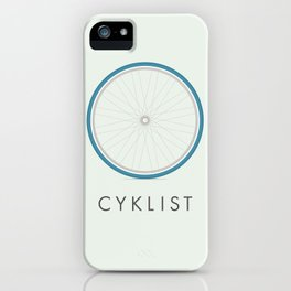 Cyklist iPhone Case