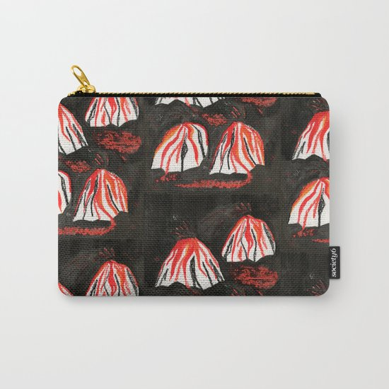 Volcanoes at Night Carry-All Pouch