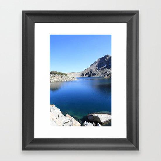 Anna Lake Framed Art Print