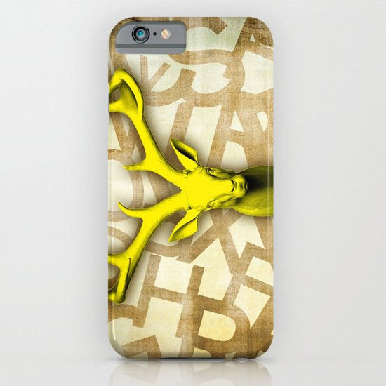 daffodil stag iPhone & iPod Case