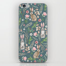 Cute rabbits iPhone Skin