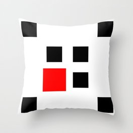 Too Big (Square) Throw Pillow