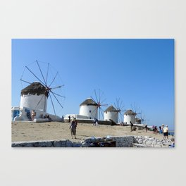 Mykonos Grece | Mykonos Grèce Canvas Print
