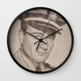 John Wayne by JS Wall Clock