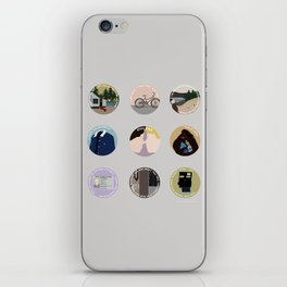 PHILKAS: A MINIMALIST LOVE STORY iPhone Skin