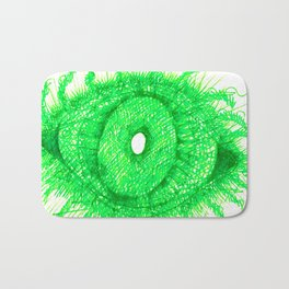 Green Eye Bath Mat