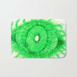 Green Eye Bath Mat