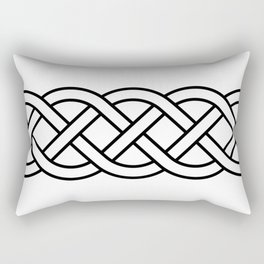 Celtic Knot Band Rectangular Pillow