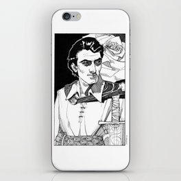 Lothario, Corwin from the Chronicles of Amber iPhone Skin