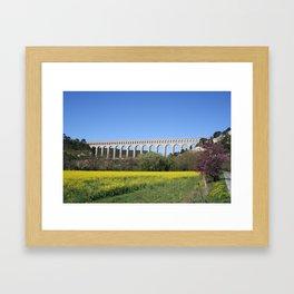 Aqueduct Roquefavour Framed Art Print