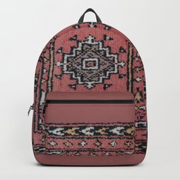 Traditional Rug - Pink Backpack