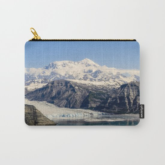 Mountain Lake Landscape Carry-All Pouch
