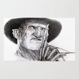 Freddy krueger nightmare on elm street Rug