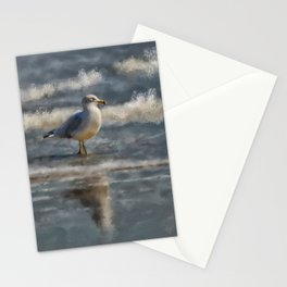 Seagull By The Seashore Stationery Cards