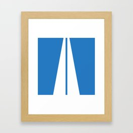 Autobahn Framed Art Print
