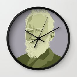 George Bernard Shaw Wall Clock