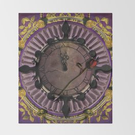 Two Minutes to Midnight Throw Blanket