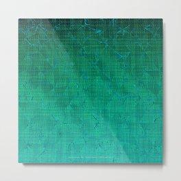 Distortion (Tropical) Metal Print