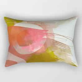 abstract landscape phantasy Rectangular Pillow