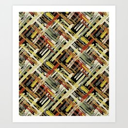 Tribal Abstracts 3 Art Print