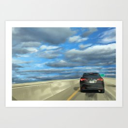 Peace Lane Art Print