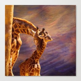 Tenderness Painted Canvas Print