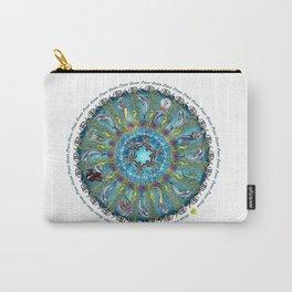 Ocean Peace Mandala Carry-All Pouch
