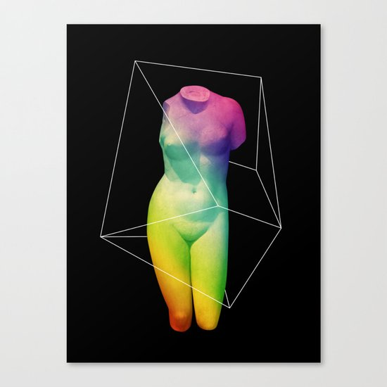 Paradame Shift x Prisma Canvas Print