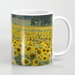Field of a Million Sunfowers I Coffee Mug